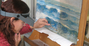 Sara Murray Painting Conservator